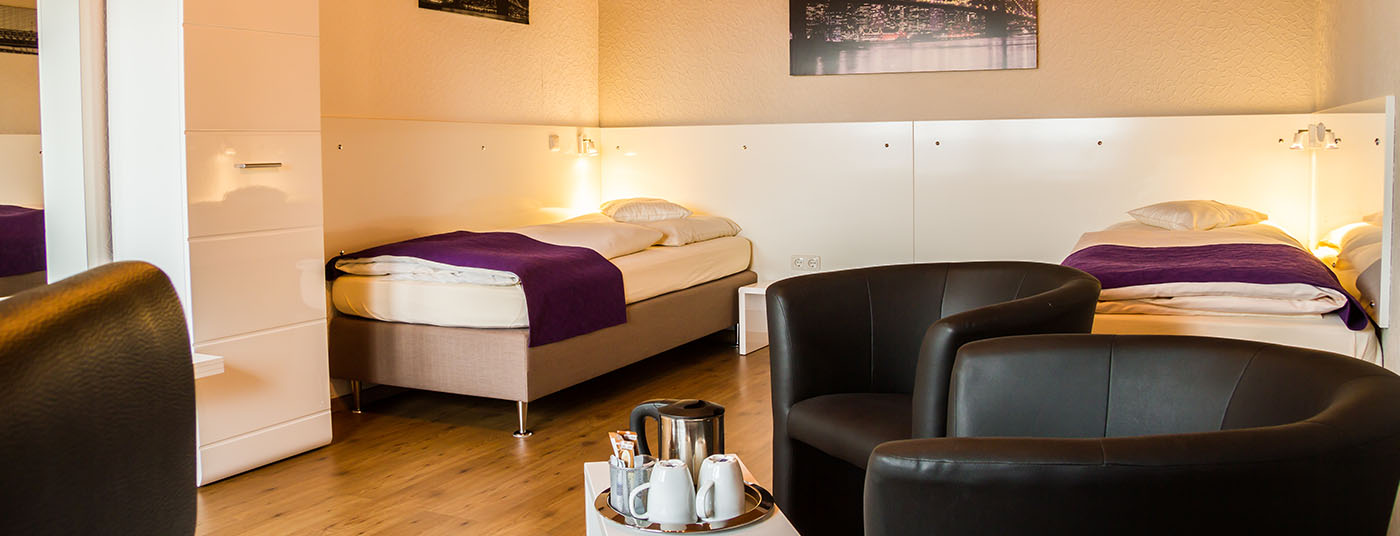 Bed and Breakfast im <strong>Hotel Waldlust</strong>